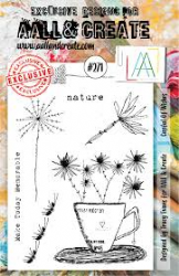 AALL and Create Clear A5 Stamp Set #271 - Cupful of Wishes